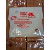 Mini Jet filter pads #2       3 pk