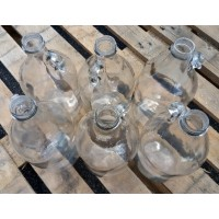 1/2 Gallon Glass Jug - case of 6