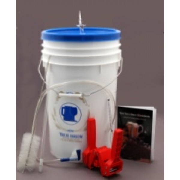 Deluxe Home Brewing Kit With 5 Gallon Carboy W Ingredient Kit