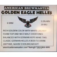 Golden Eagle German Helles - All Grain