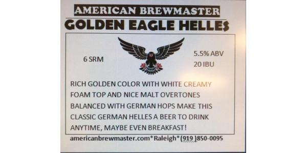 Golden Eagle German Helles - All Grain