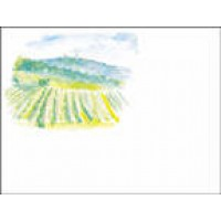 Bottle Label - Watercolors A14004 - 32 labels