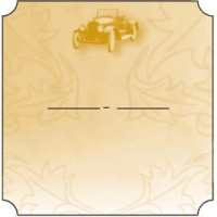 Bottle Label - Classic Car - 32 labels