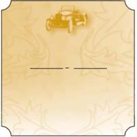 Bottle Label - Classic Car - 32 labels