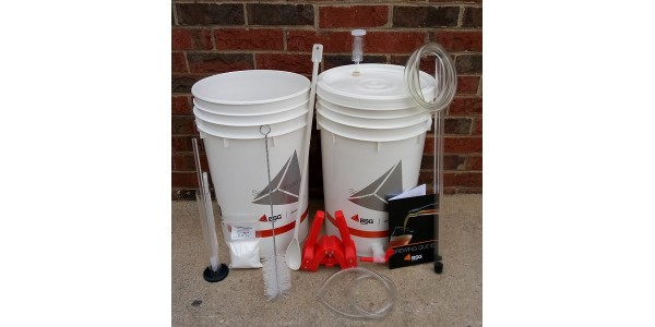Deluxe Home Brewing Starter Kit with Ingredient Kit