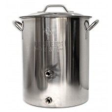 Brewer's BeAst 16 Gallon Brew Kettle with ports