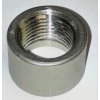 Coupling - Half x 1/2 inch Stainless Steel