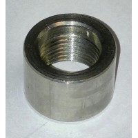 3/8 inch stainless steel half coupling - Butt Weld