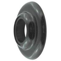 Flange Collar for shank, black plastic