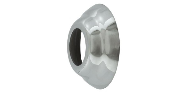Shank Flange Collar for shank - Polished Stainless Steel