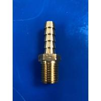 3/8 HB x ¼ MPT brass