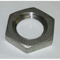 Hex Locknut, 1/2 MPT Stainless Steel