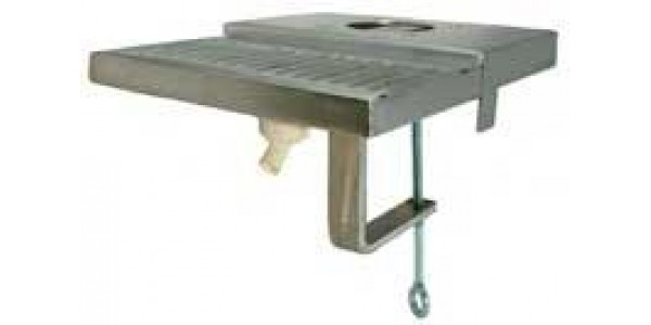 Clamp on Tower Drain for Portable Bar