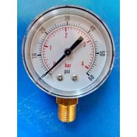 0 - 60 PSI   Low Pressure Gauge