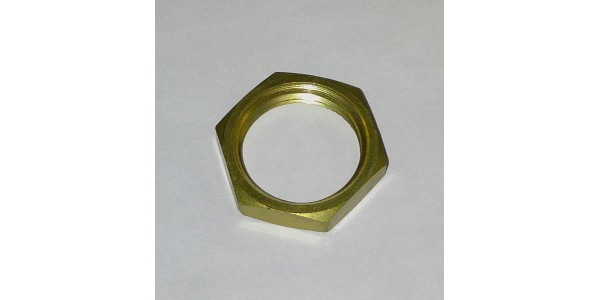 Brass Lock Nut for Tower Shank Assembly