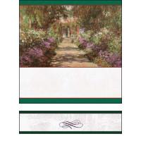 Bottle Label - Giverny Gardens - 32 labels