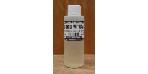 Raspberry Fruit Flavor      4 fl oz