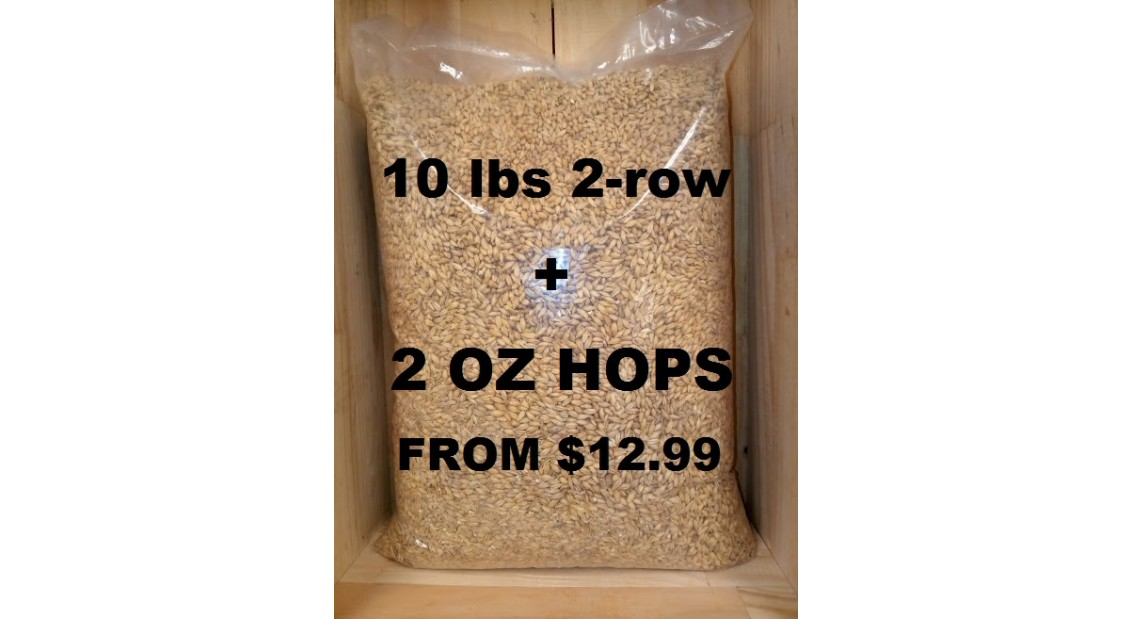 10 LBS 2-ROW - 2 OZ HOPS