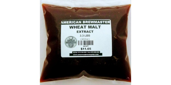 Wheat Malt Exract  3.3 pounds
