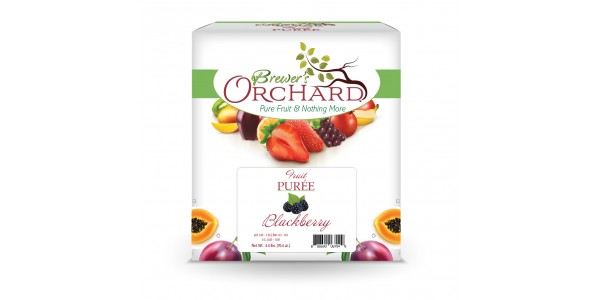 Brewer's Orchard Blackberry Puree  4.4 lbs