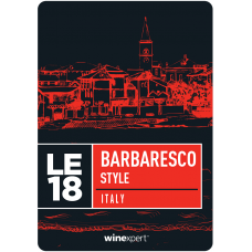 Winexpert Limited Edition Barbaresco Wine Kit With Skins