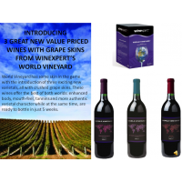 World Vineyard with Grape Skins 3 Pack