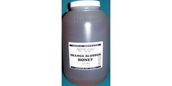 Orange Blossom Honey 12 Pounds (1 Gallon)