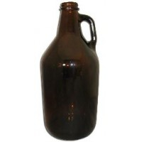 1/2 Gallon Amber Growler