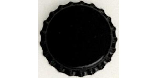 Bottle Caps, Plain Black       144
