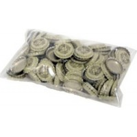 Bottle Caps  - miscellaneous pkg     144/bag