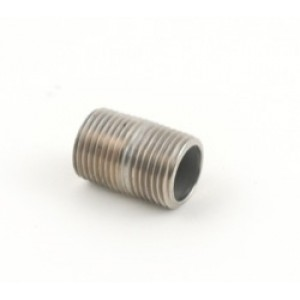 Stainless Steel Close Nipple - 1/2 in