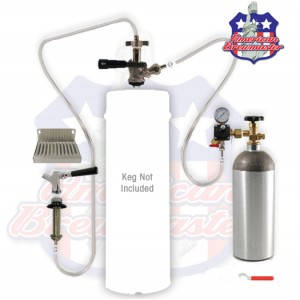 Refrigerator Conversion Kit with American Sanke Coupler - ships