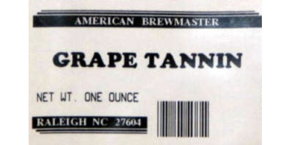 Grape Tannin                   1 oz