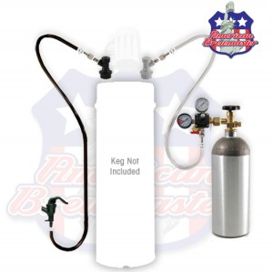 Homebrew Kegging Kit With Squeeze Faucet - No Keg