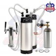 Homebrew Kegging Kit With Double Tap Tower Ships