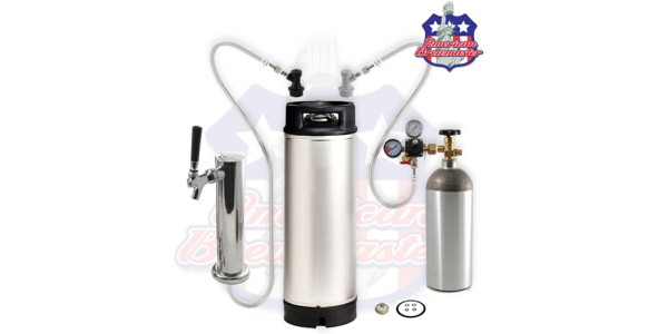 Homebrew Kegging Kit With Single Tap Tower