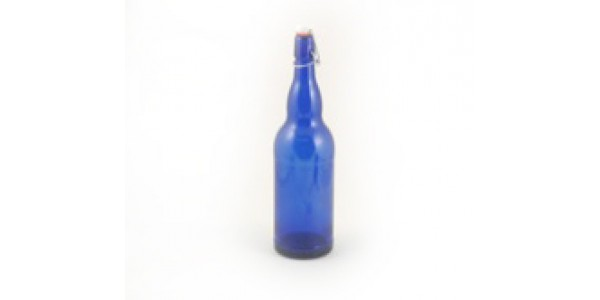 1 Liter Blue Flip Top ea