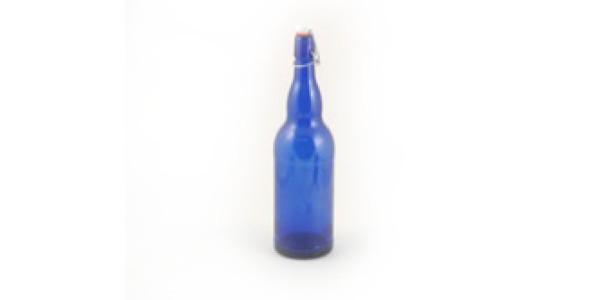 1 Liter Flip Top, Blue - case of 12