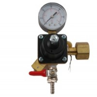 Co2 Regulator - Single Gauge