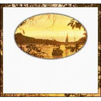 Bottle Label - Sunset Bay B18008 - 32 labels