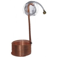 Immersion Wort Chiller with fittings
