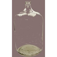 6 Gallon Glass Carboy  (in store)
