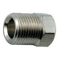 Compression Nut for Tower Shank, plated brass