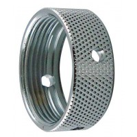 Faucet Collar/Coupler, chrome (ring for shank or tower)
