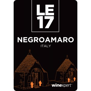 Negroamaro with grape skins, Italian