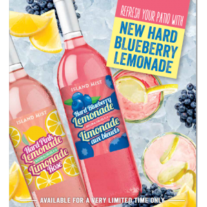 Island Mist Hard Pink AND Blueberry Lemonade