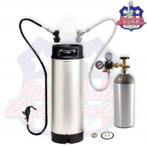 Homebrew Kegging Kit With Squeeze Faucet - Shippable