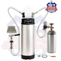 Refrigerator Conversion Kit For Home Brew with 5 gallon keg-