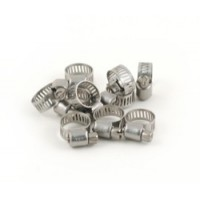 Stainless Steel Hose Clamps -1/2 inch       10/pkg