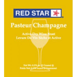 Red Star Pasteur Blanc (Champagne) Yeast      5 gm